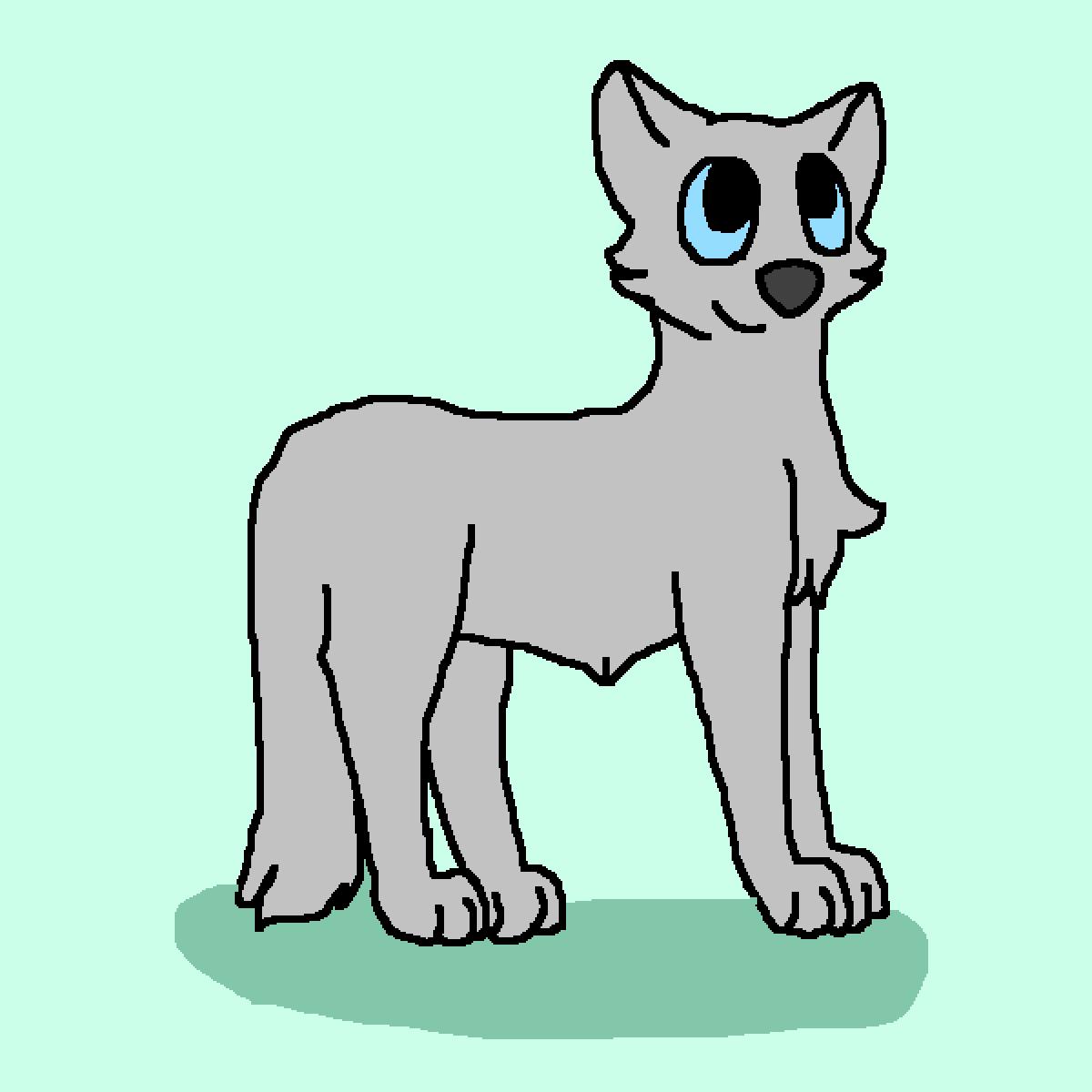 Grey Wolf by LunaArt