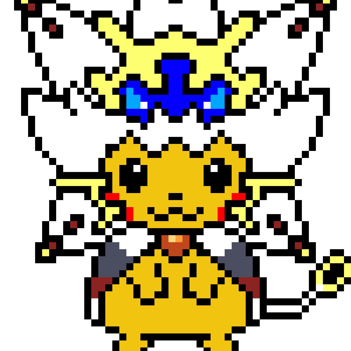 Pixilart Solgaleo Pikachu Costume By Mrbeast2019