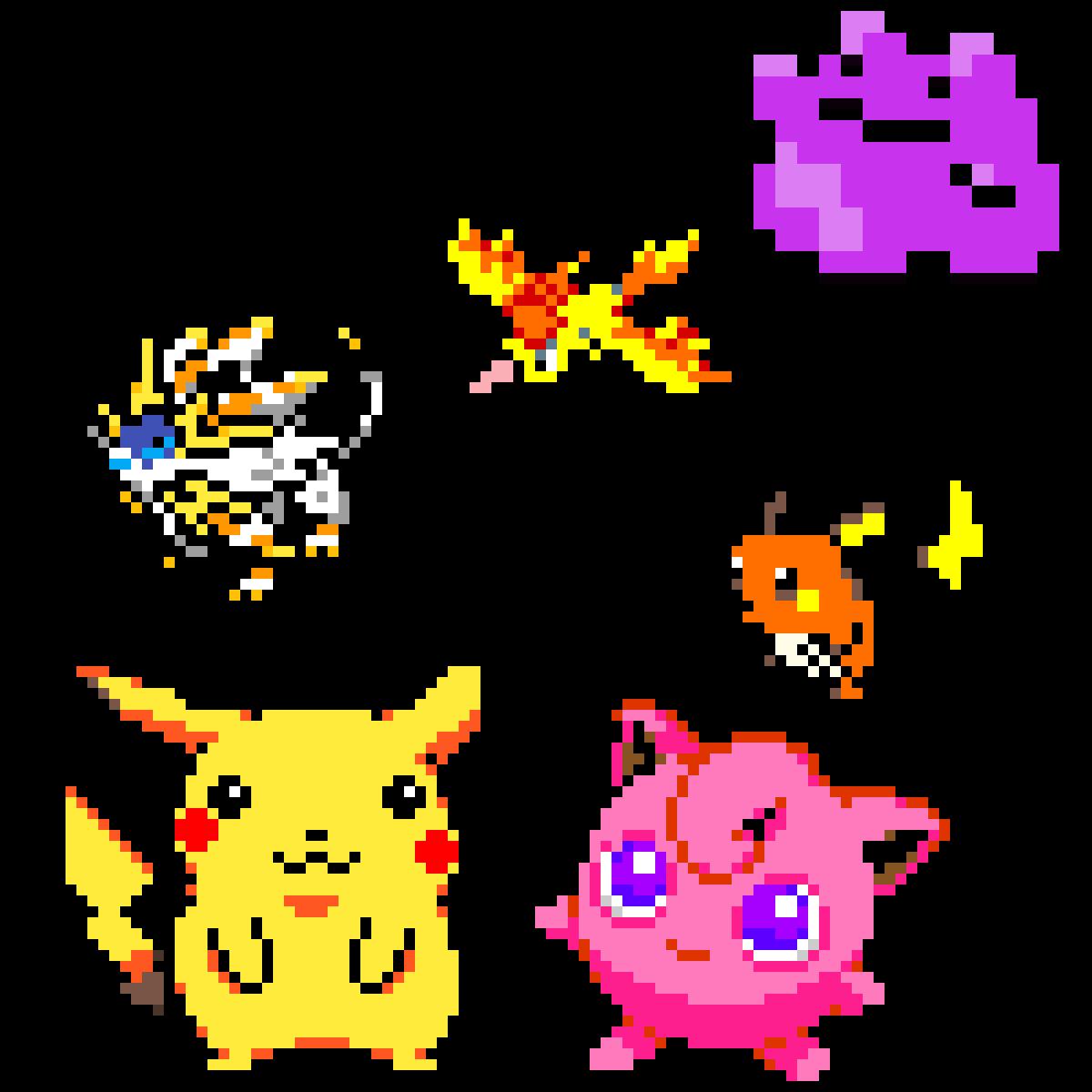 Pokemon by Galaxy-Shadow