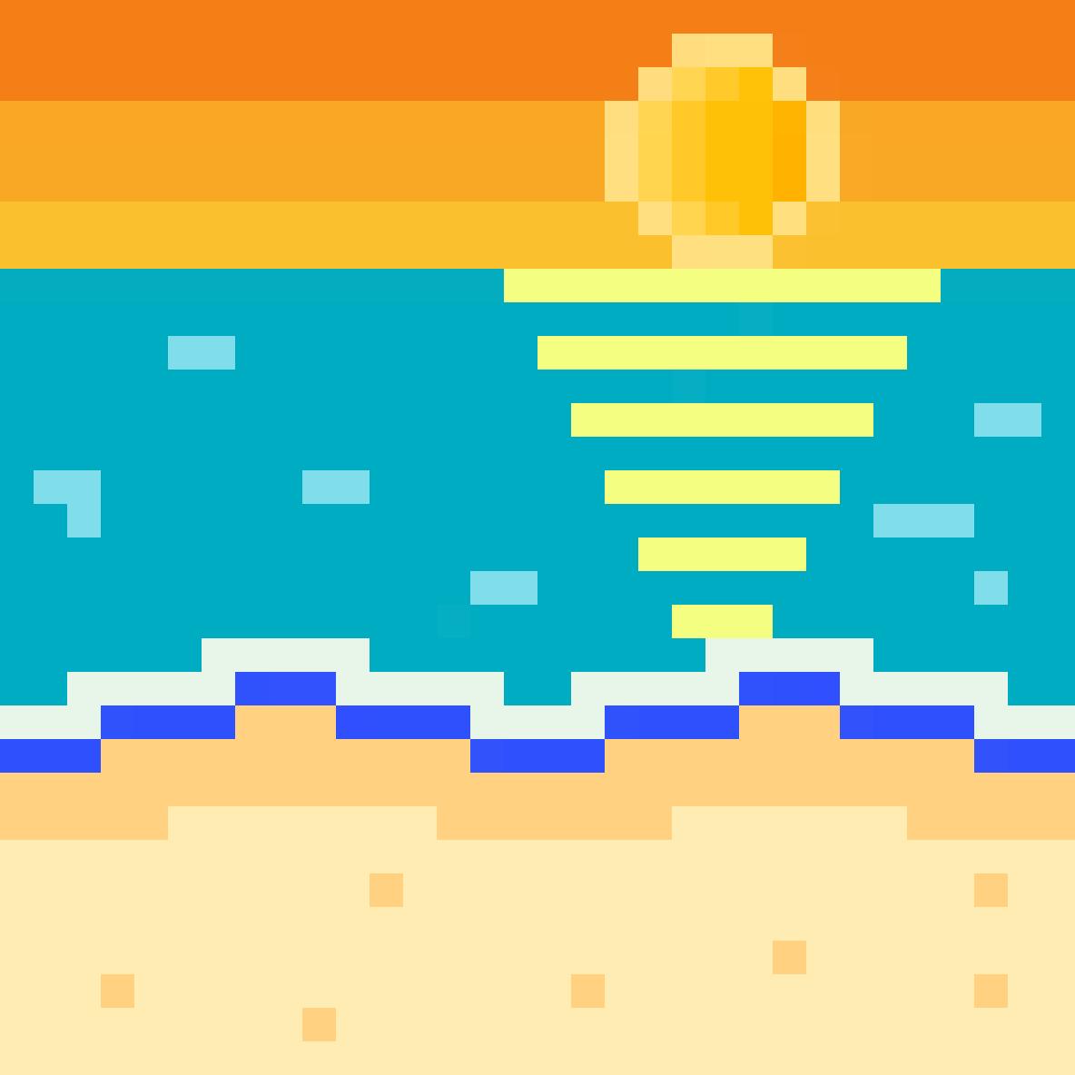 main-image-The beach  by lugase