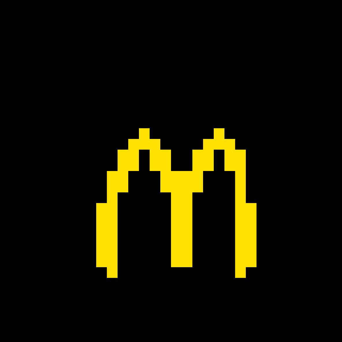 Pixilart Mcdonalds By Pixel Colors