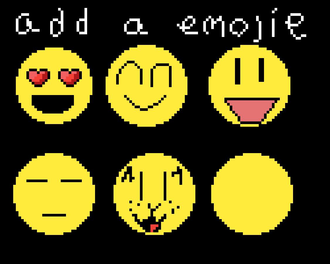 Add your own emoji! by FloweytheTEM