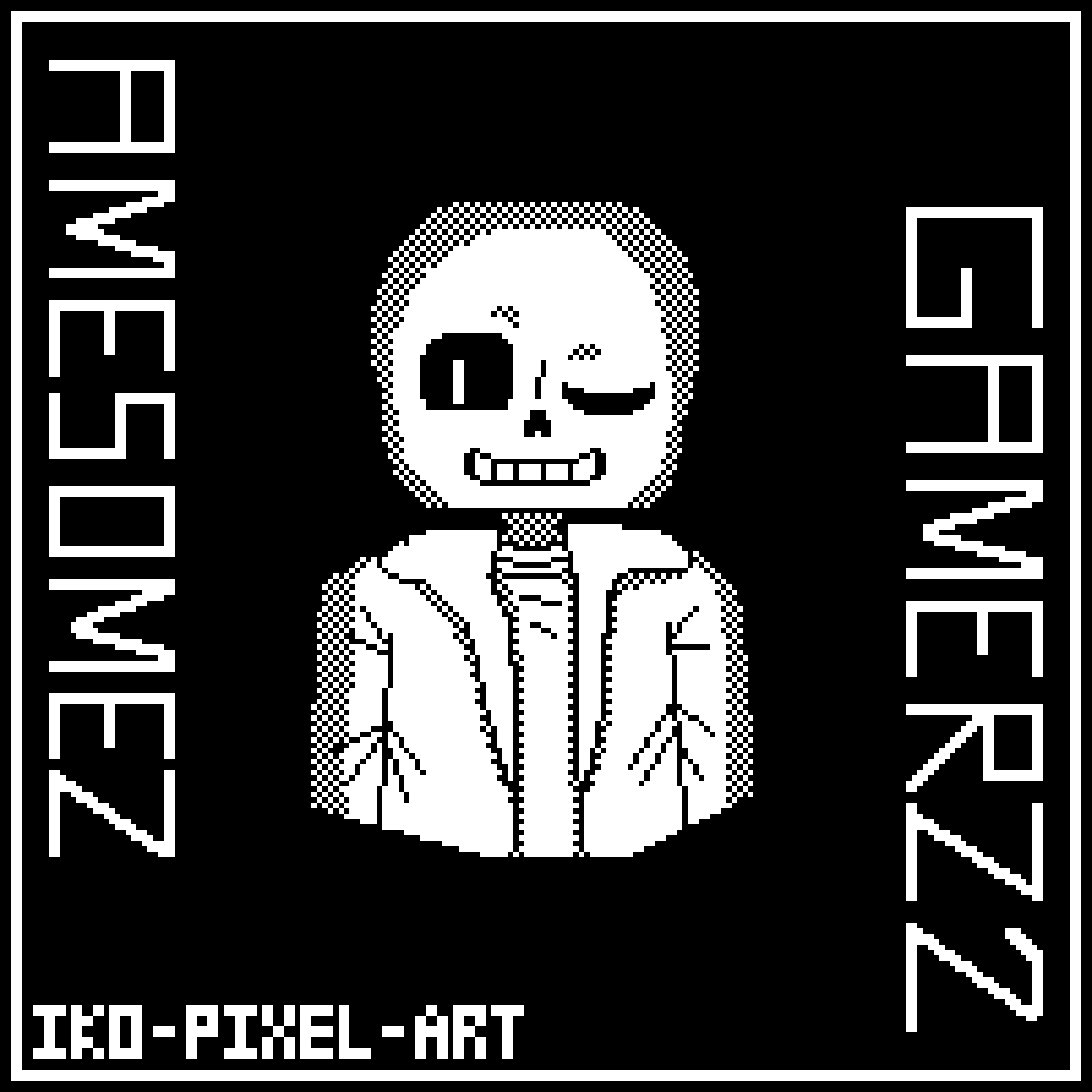 Gift for AmesomezGamerz2 by IKO-PIXEL-ART