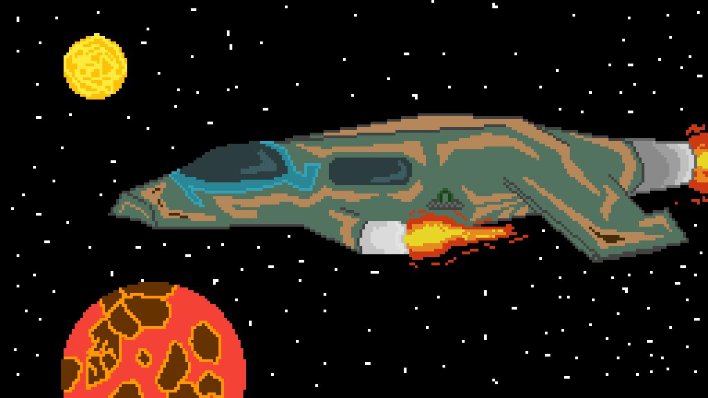 Original Space Ship by Caboose