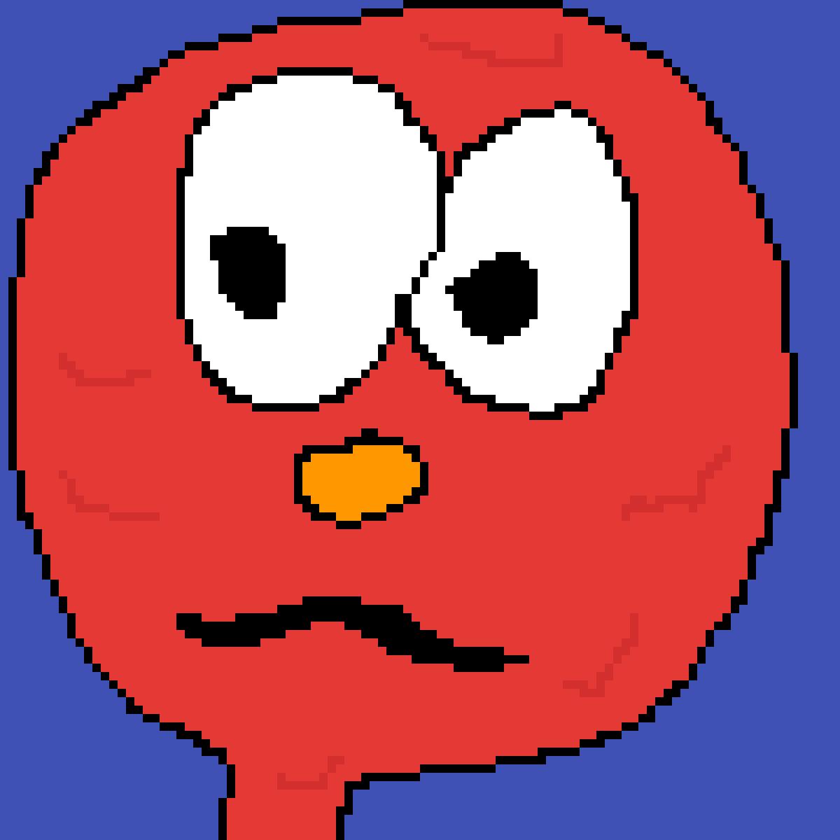 Weirdo Elmo by DogeDogeDoge