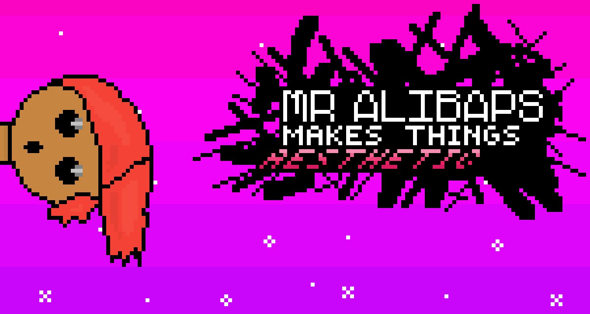 main-image-Mr Alibaps entrance card.  by alibaps