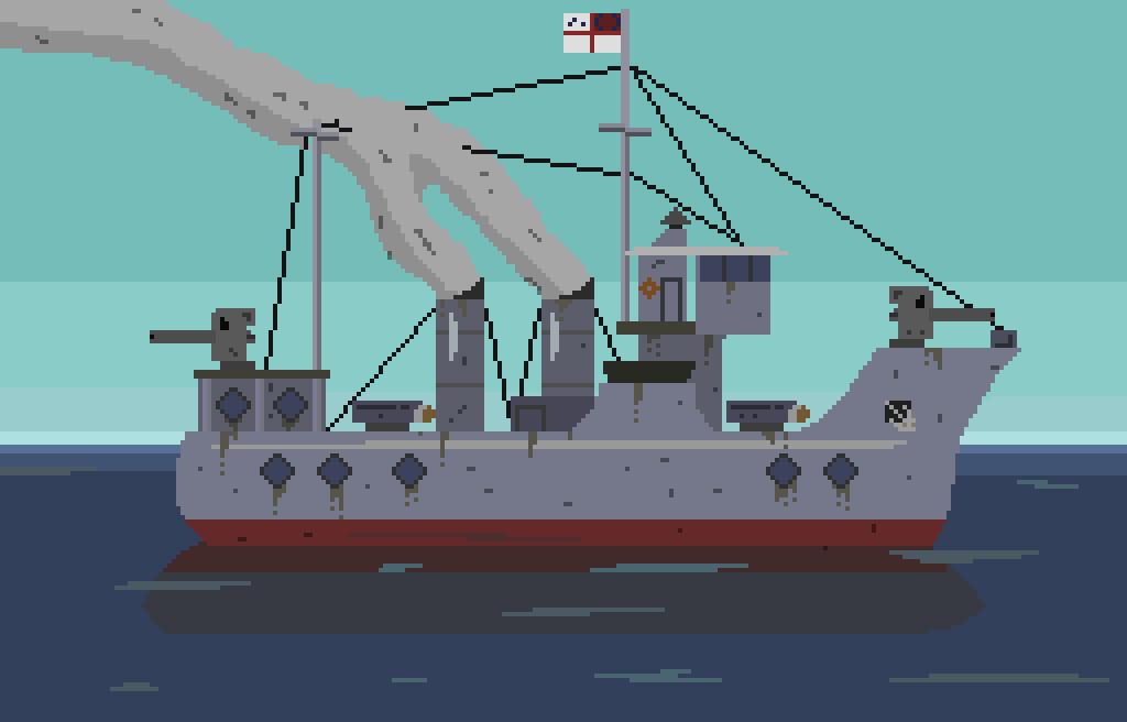 Old Destroyer by AussieWirraway