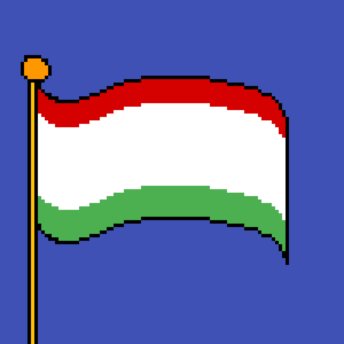 The flag of Hungary by poison-darts317