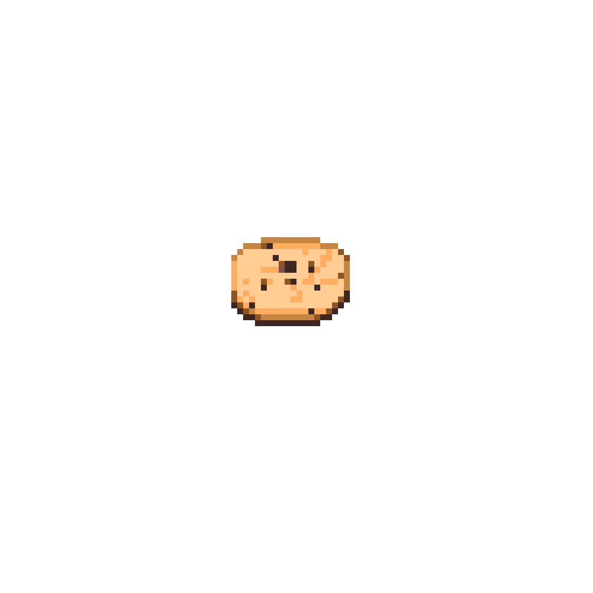 Minecraft Cookie from memory by ILoveIcecream17