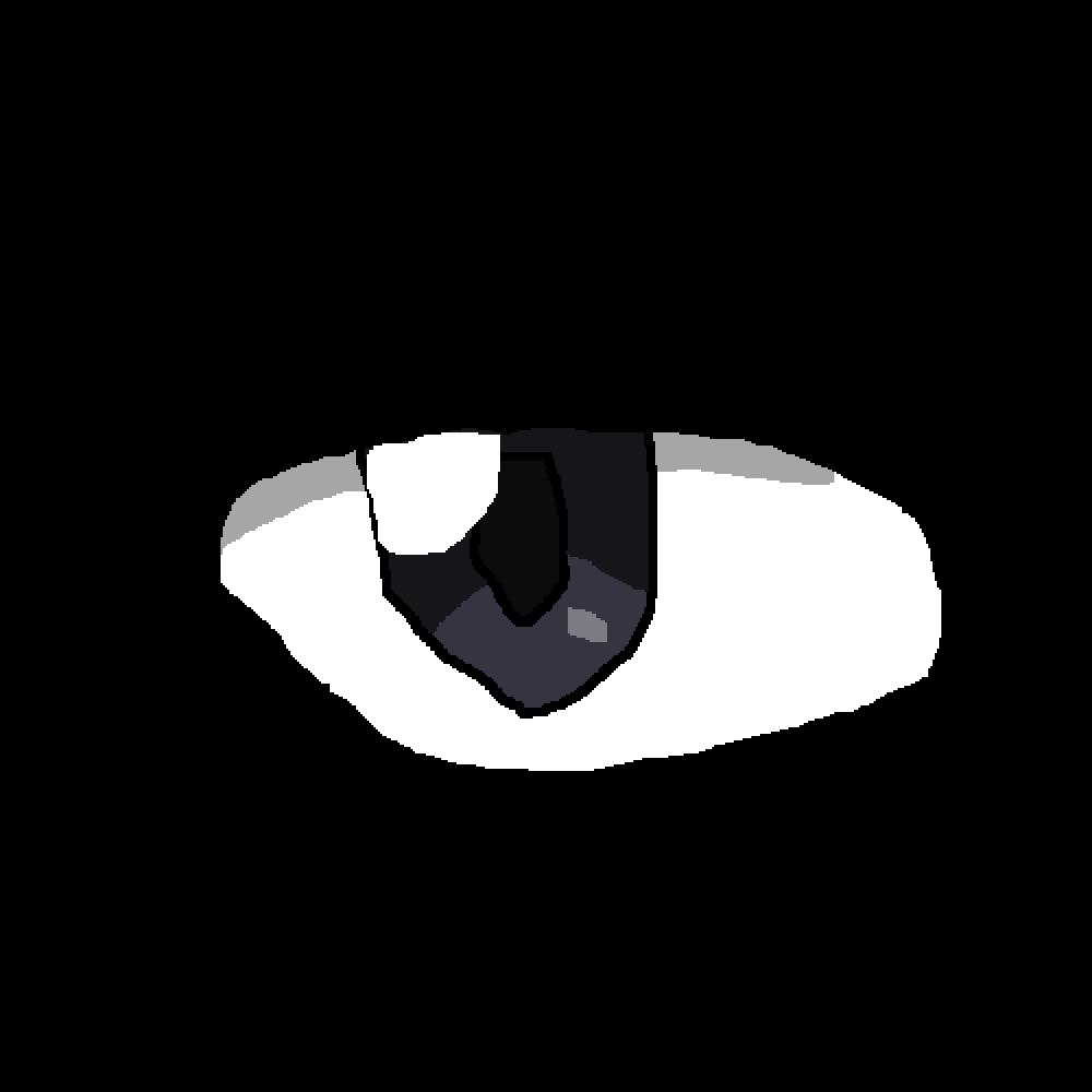 Pixilart Really Bad Anime Eye By Gabbyrose1010