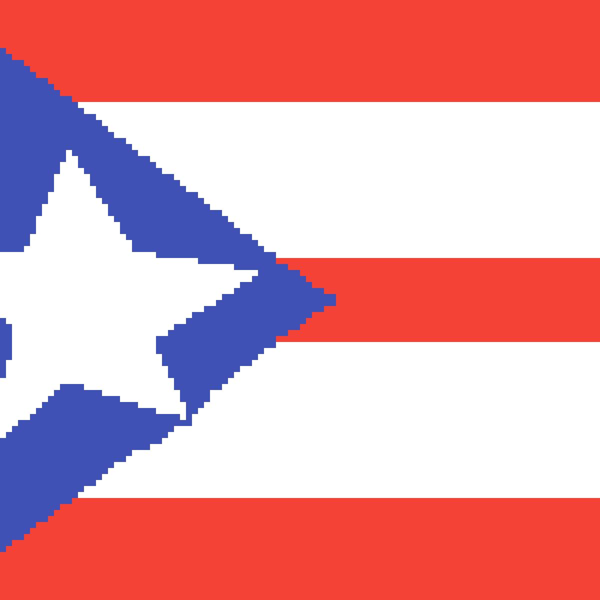Puerto rico flag  by furpaw