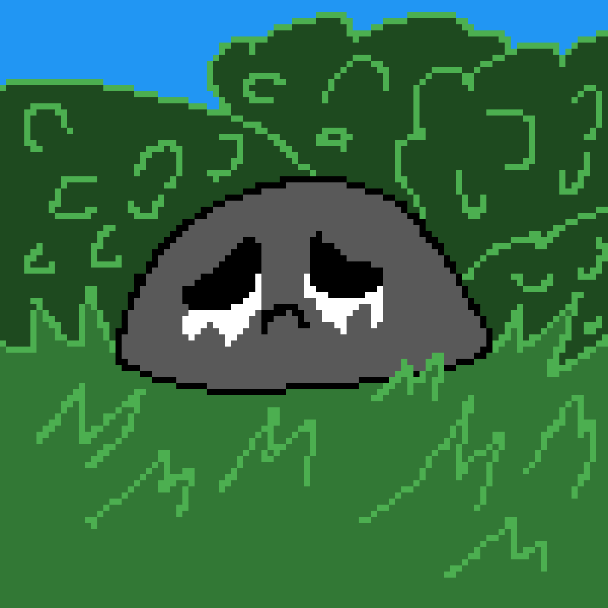 sad bean by wigton
