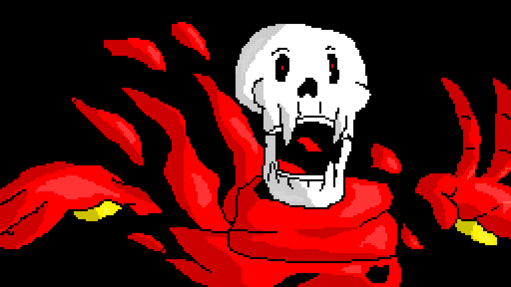 Pixilart - papyrus dusttale by animeitor