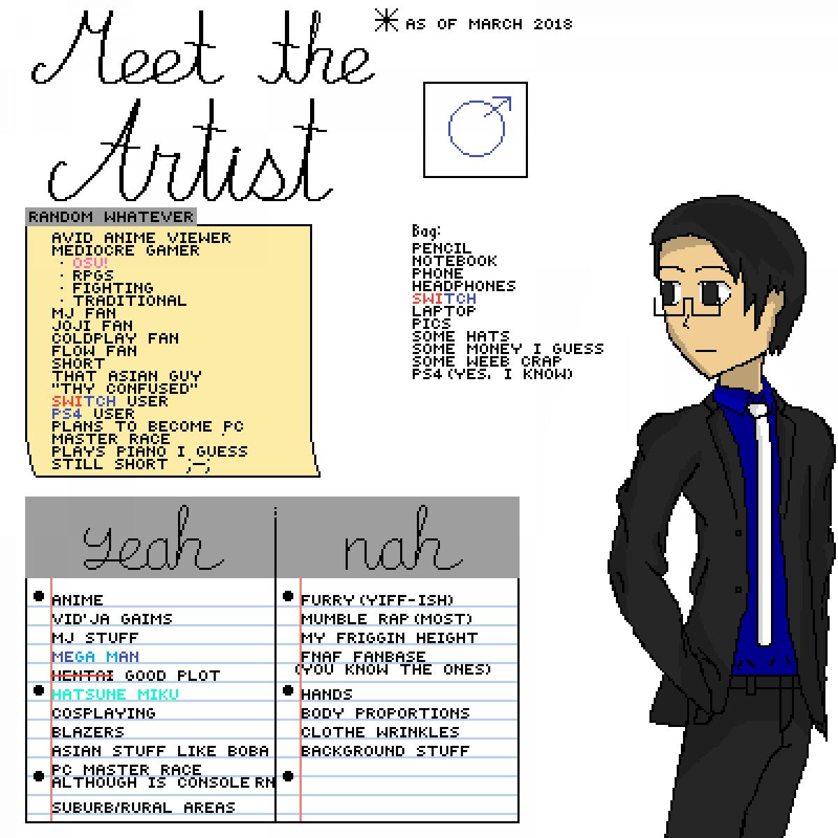Pixilart - Meet The Artist (March 2018) by ItsXtheEditor