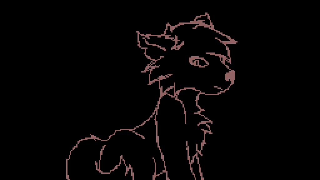 Pixilart Wolf Sketch 3 By Musicpixelz
