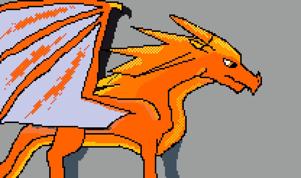 Icewing/Skywing hybrid by Bladedclaws