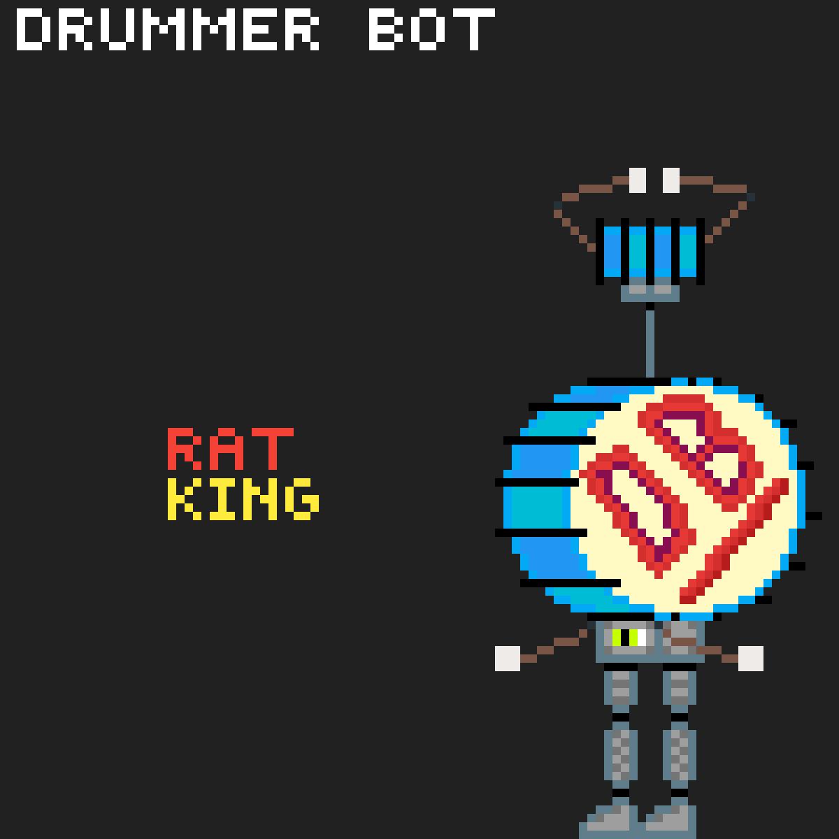Drummer Bot by Rat-King