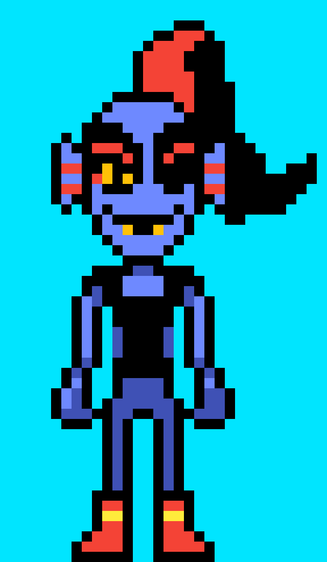 Undyne without armor