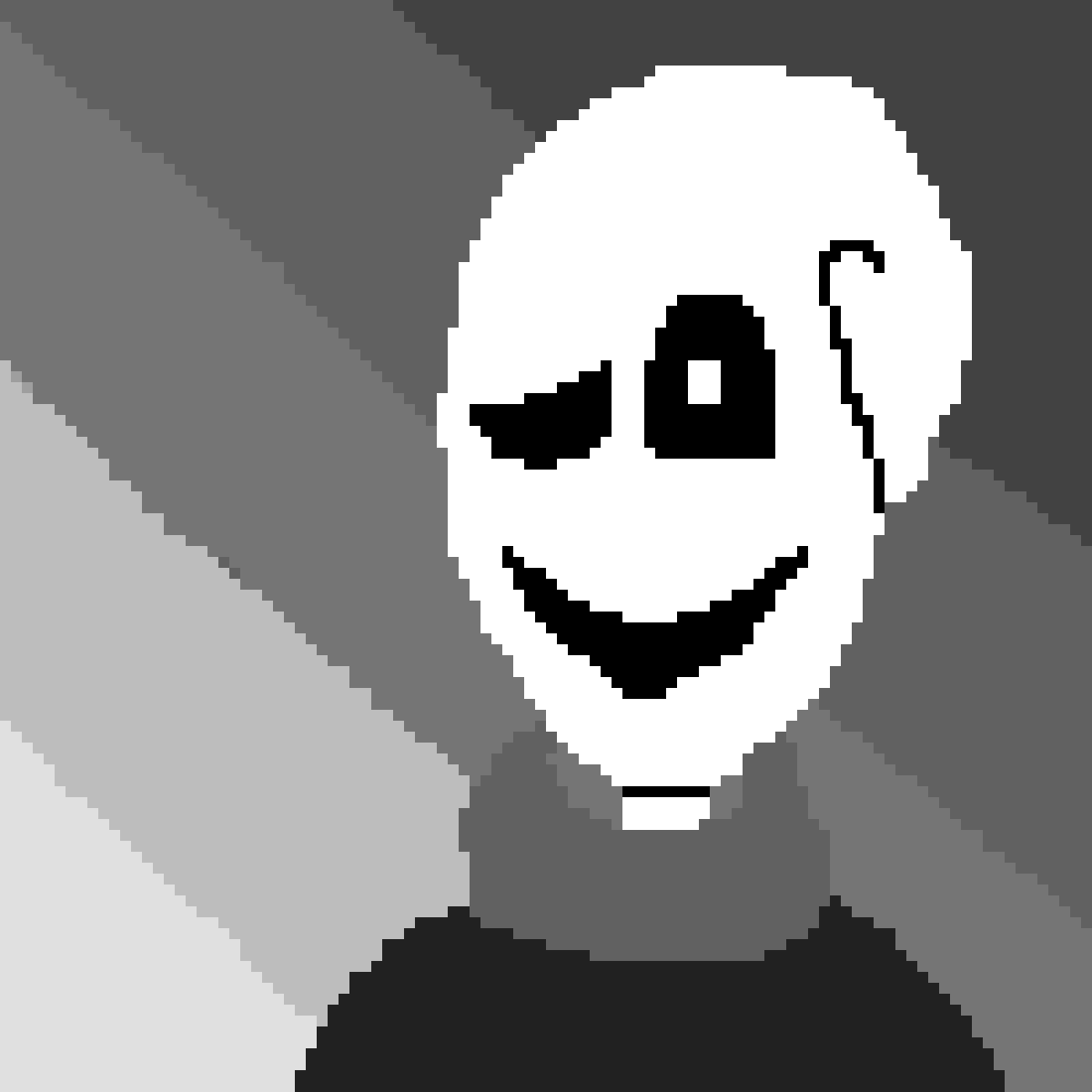 Gaster in the void by Undertale-lover