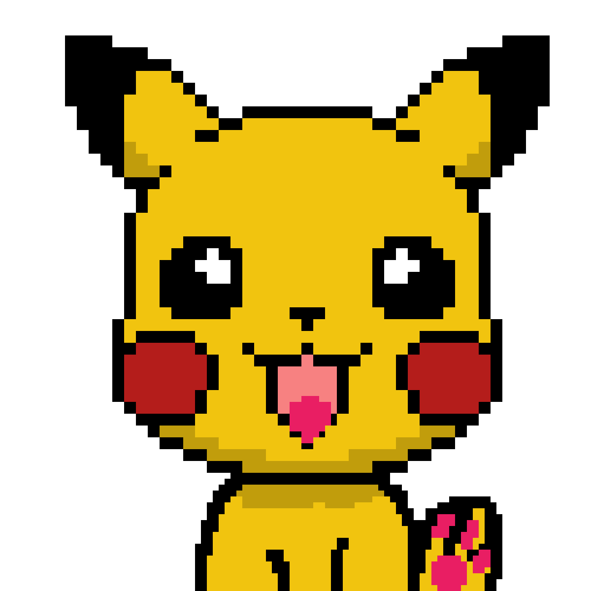 pikachu by maxout12345689