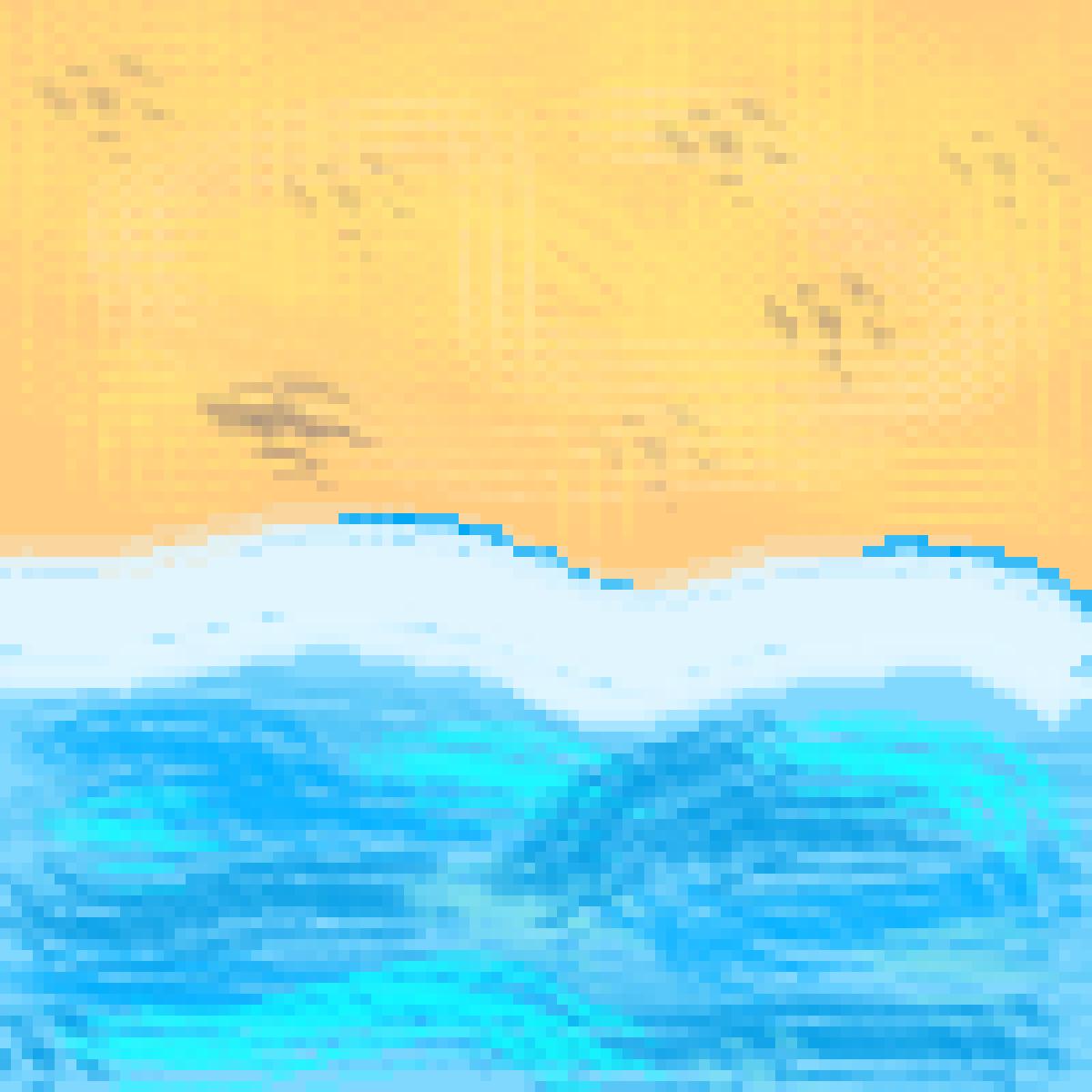 The Beach by MythicalPanda