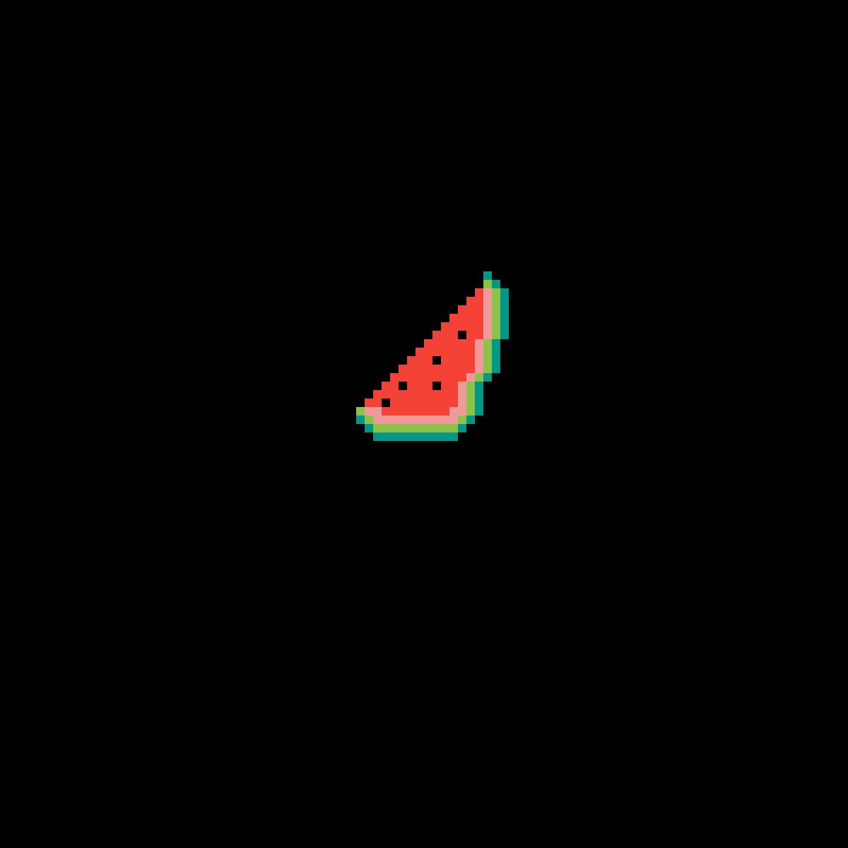 Minecraft Watermelon from memory by ILoveIcecream17