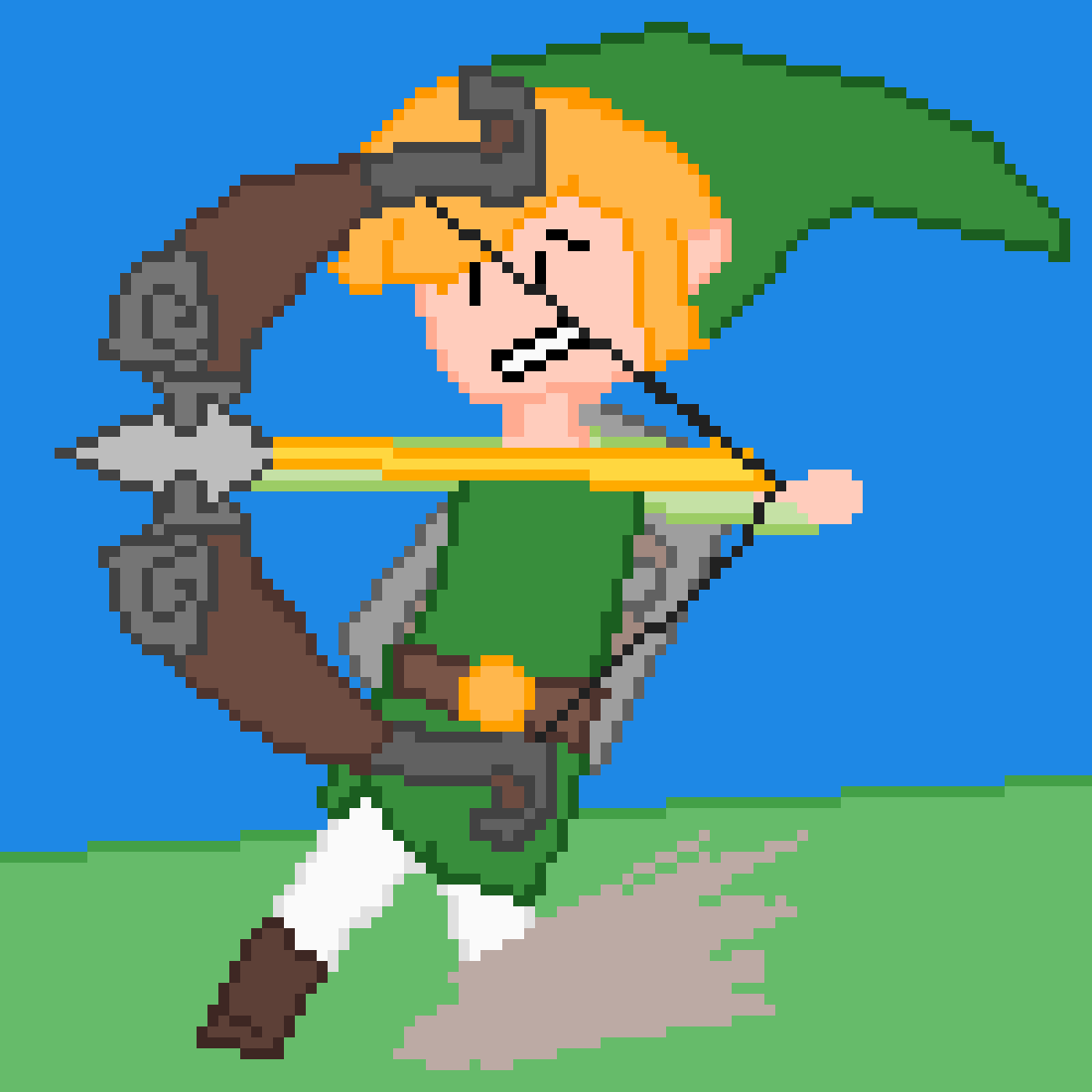 Toon Link by TryingStuffOut