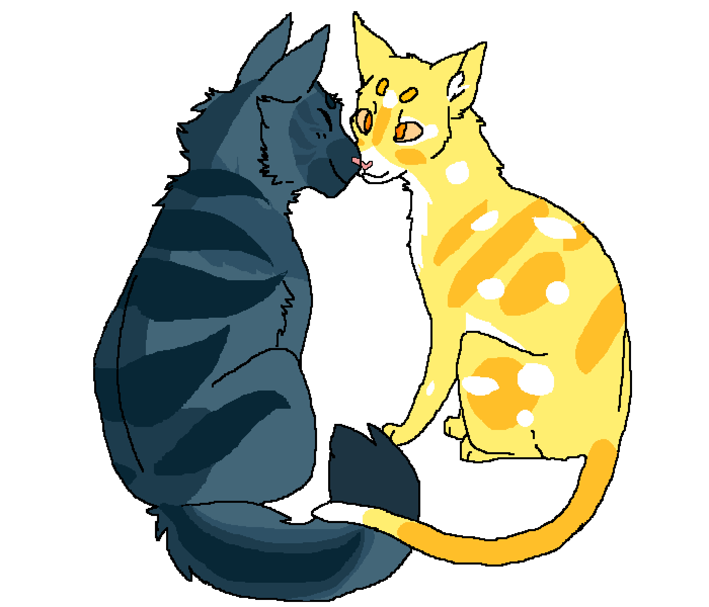 main-image-Moontail and Sunstripe  by warriorslover
