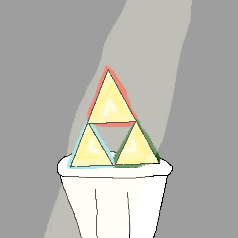 Triforce by PartyPonies17