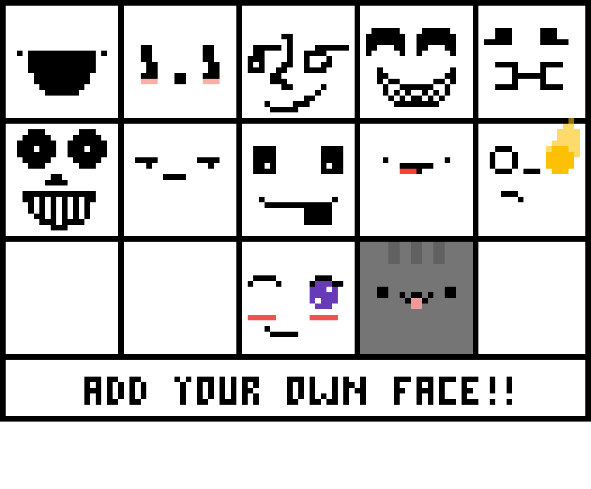 Add your own face by ImTheHer0