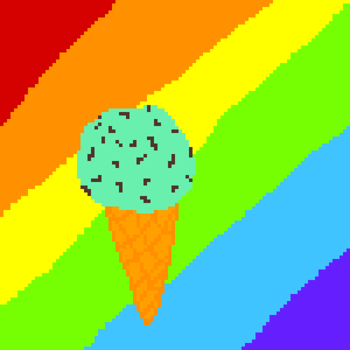 Rainbow Ice Cream!! by Lee200712