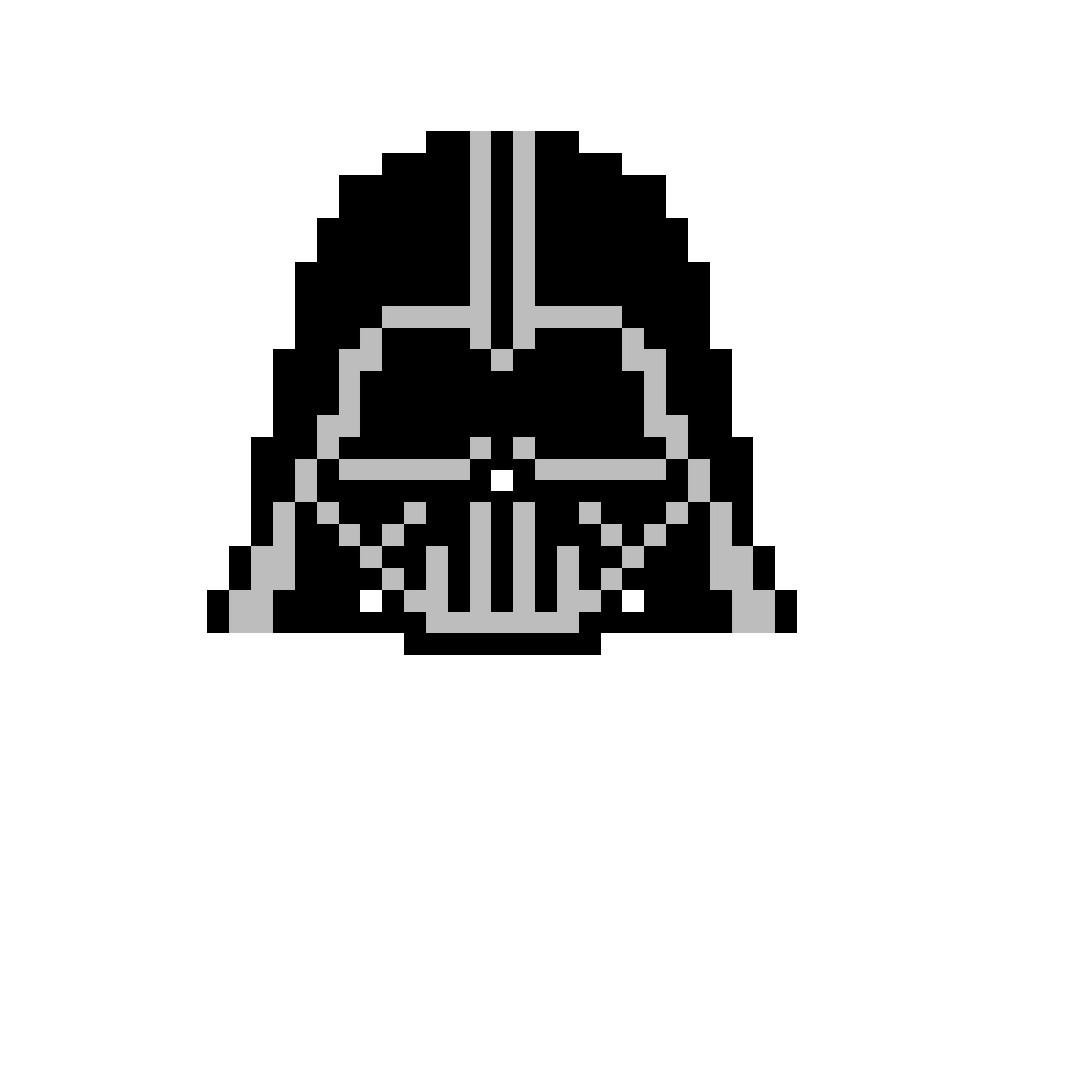 Pixilart Darth Vader Pixel By Kingtj08