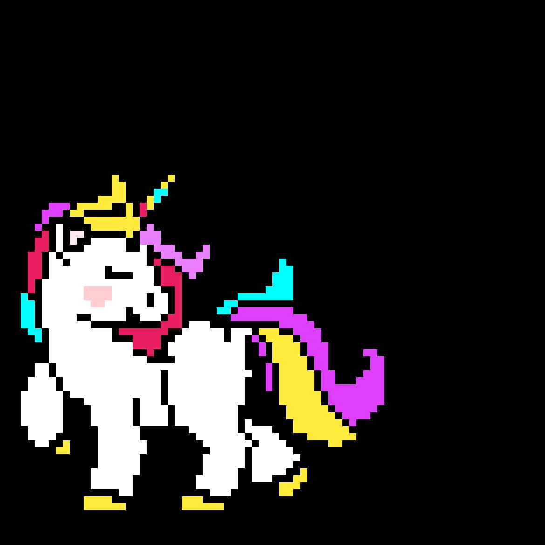Colorful unicorn by Ninasilverrose