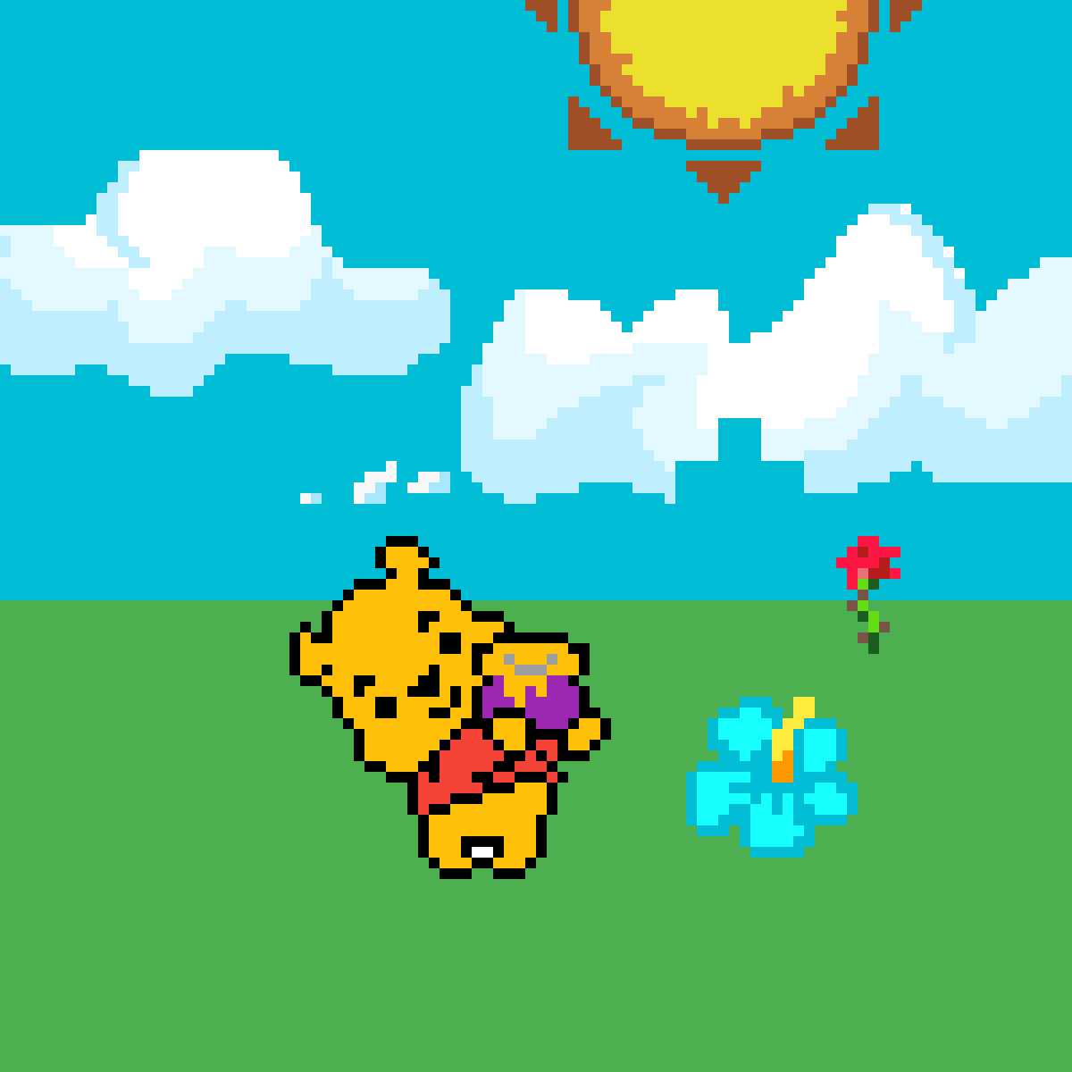 main-image-Winnie's Fun Day In the Sun - Animals   by Sealdijon