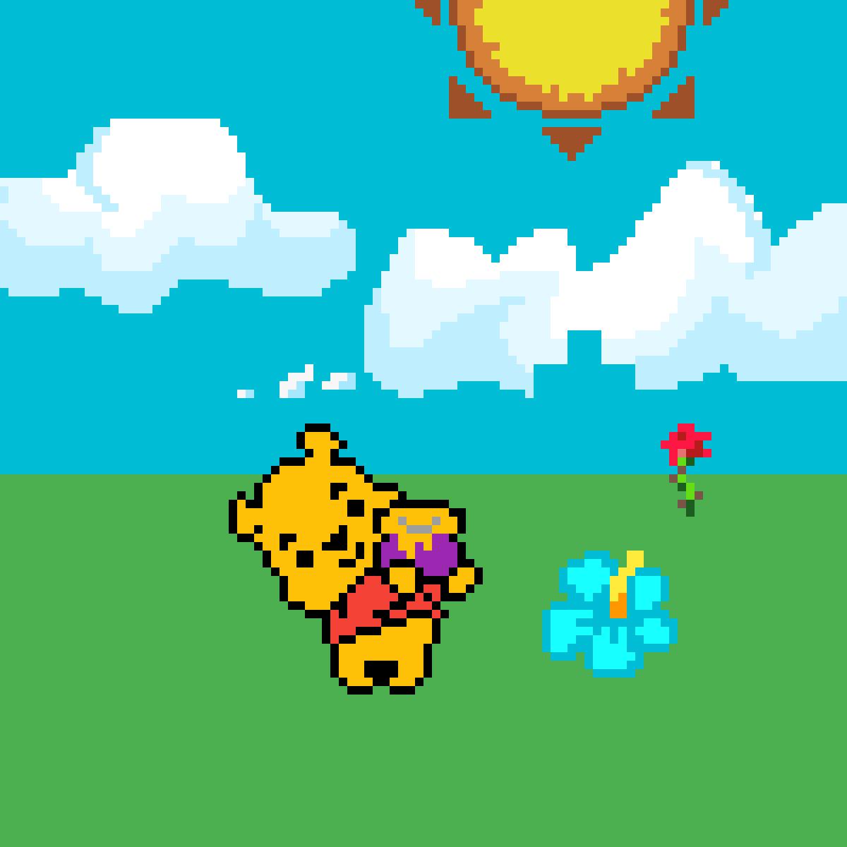 Winnie's Fun Day In the Sun - Animals