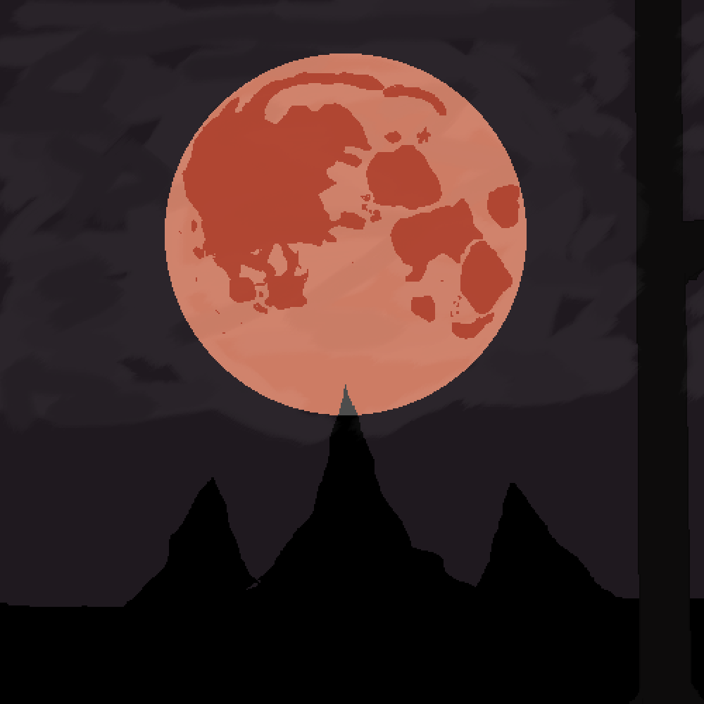 Blood Moon (late) by Accardo