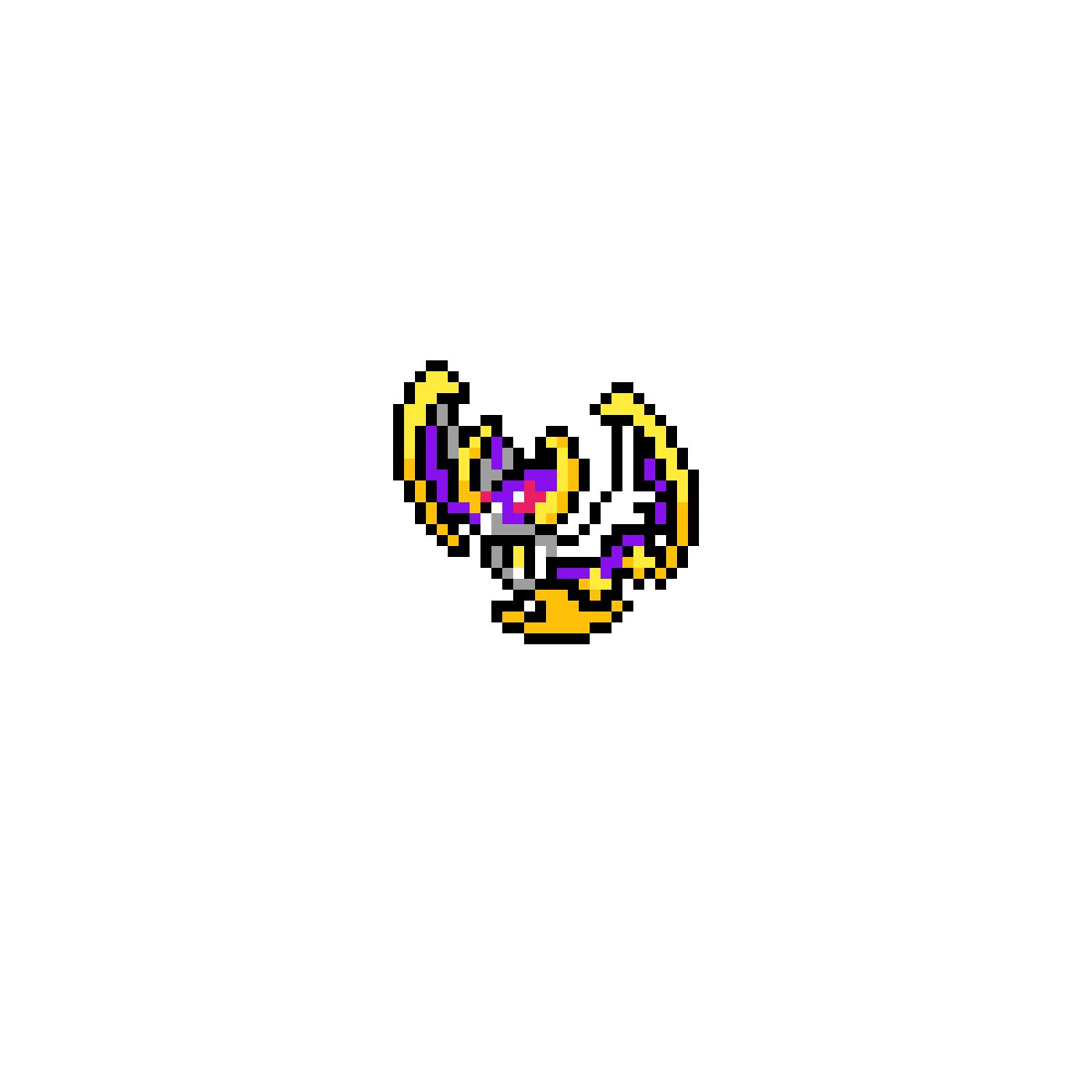 Pixilart Pixel Lunala By Mrboopdoop
