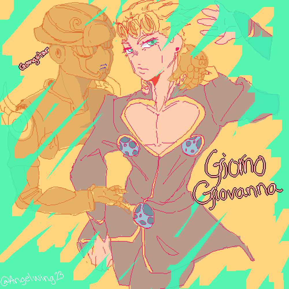 Giorno Giovanna ? by AngelWing23