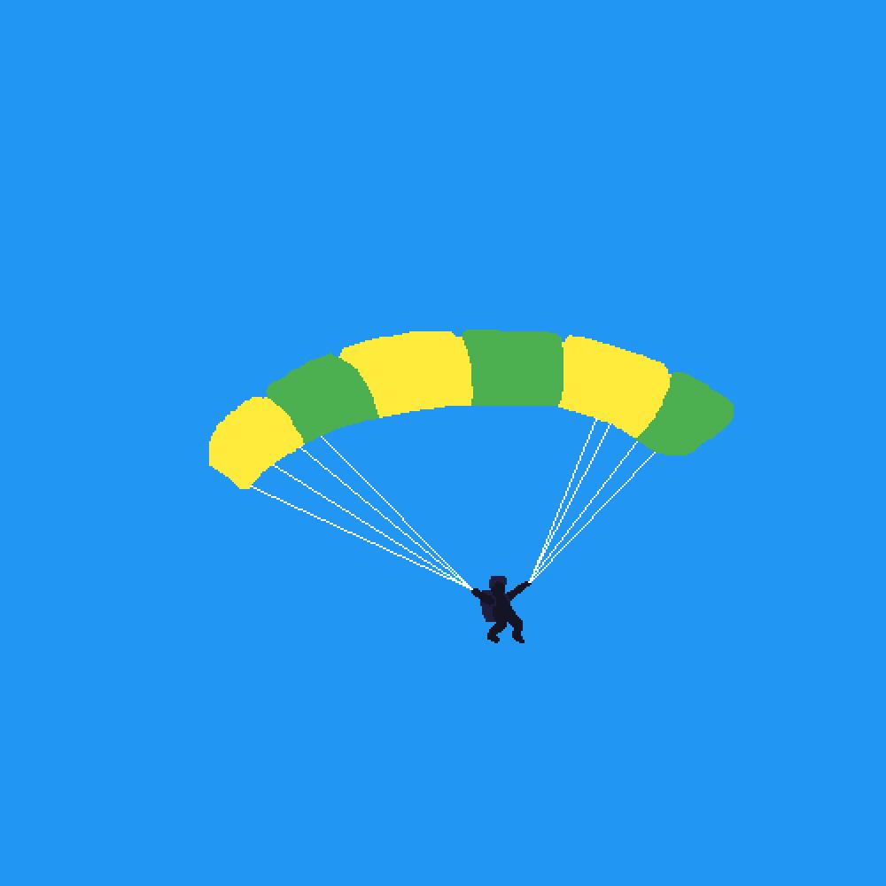 main-image-Parachuting  by KristelZB