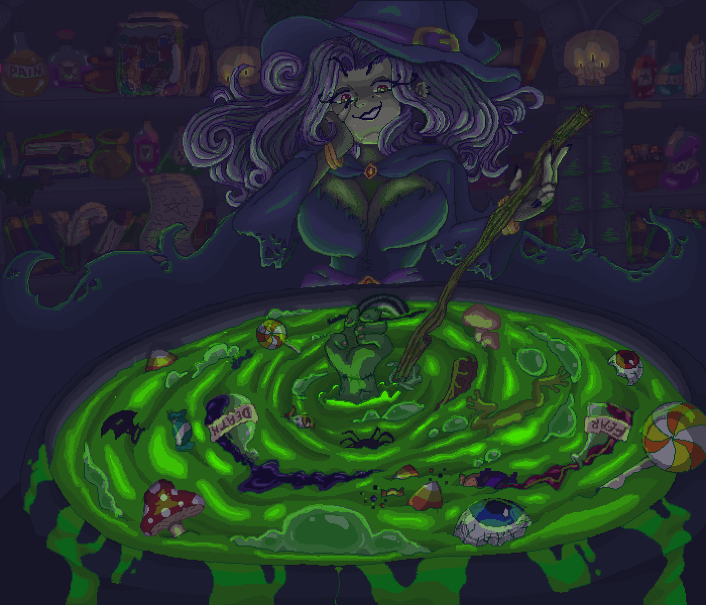 ~Witches Brew~ by Candied-Tofu