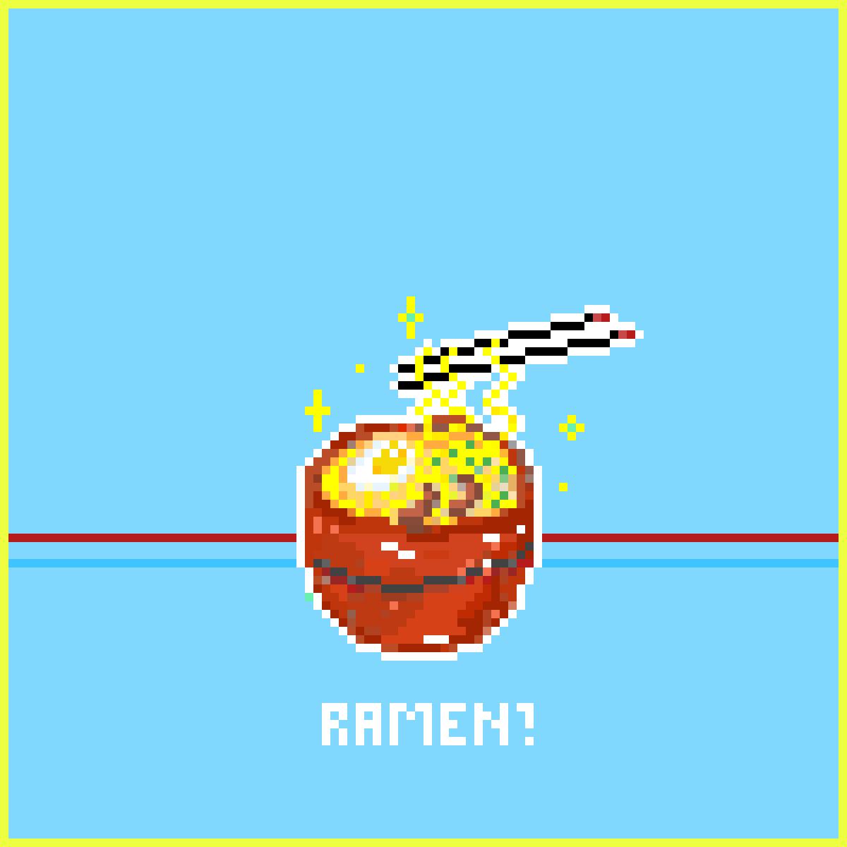 RAMEN! by Pixeelmind