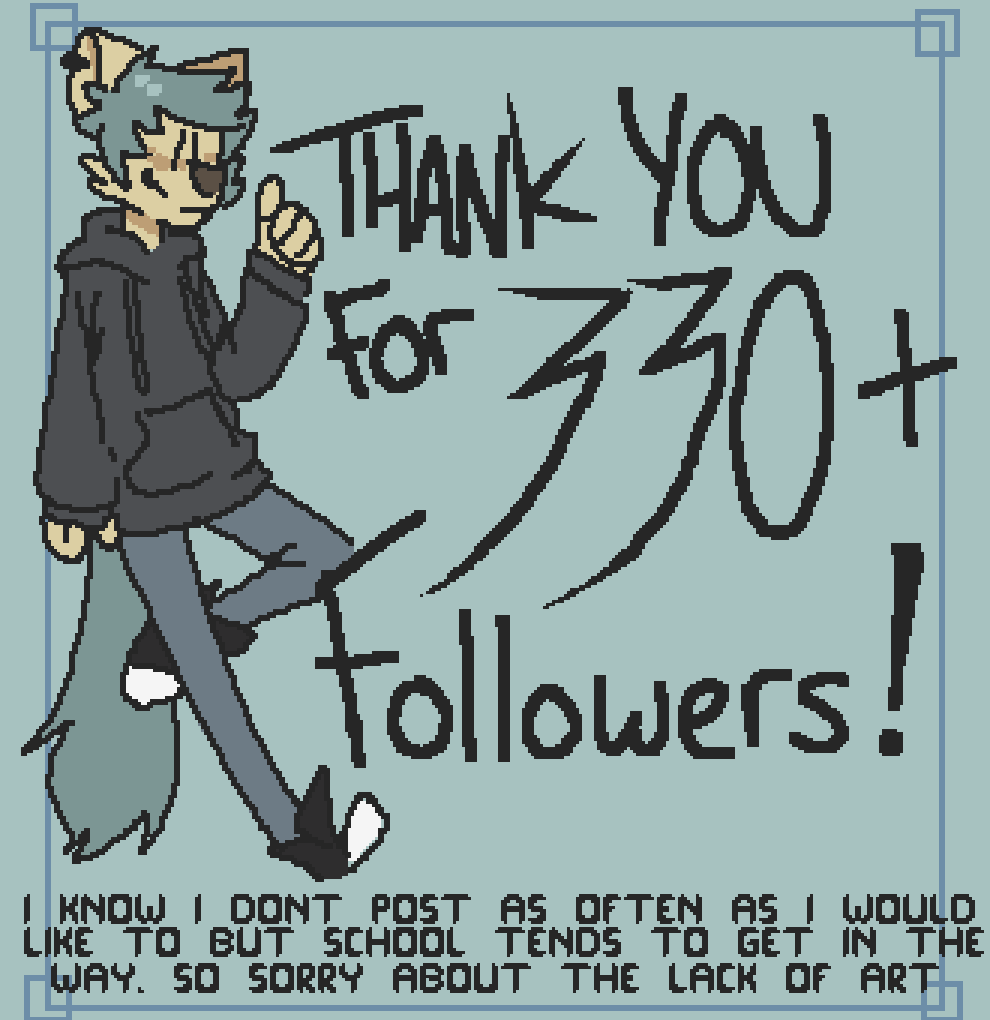 Thank you for 333+ followers  by skeleton-eyes