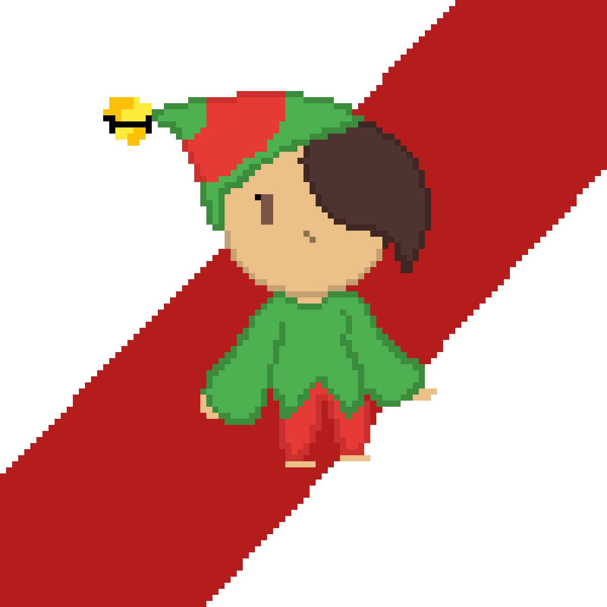 me in a elf costume
