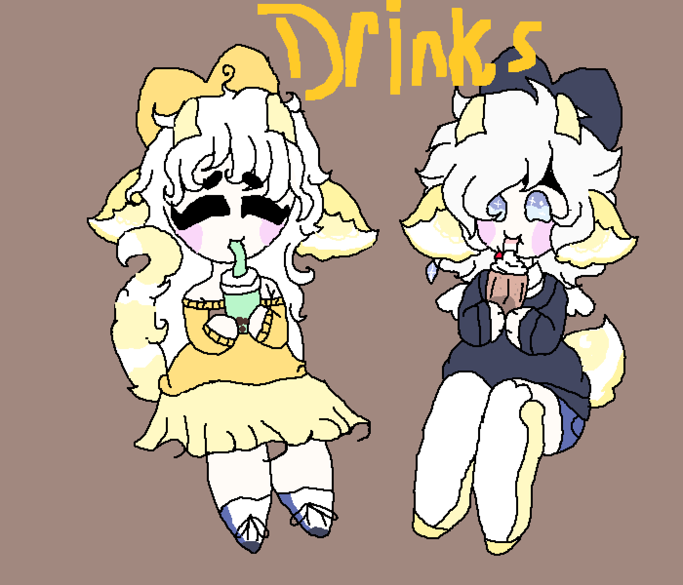 DRINKS! by StupidNekko