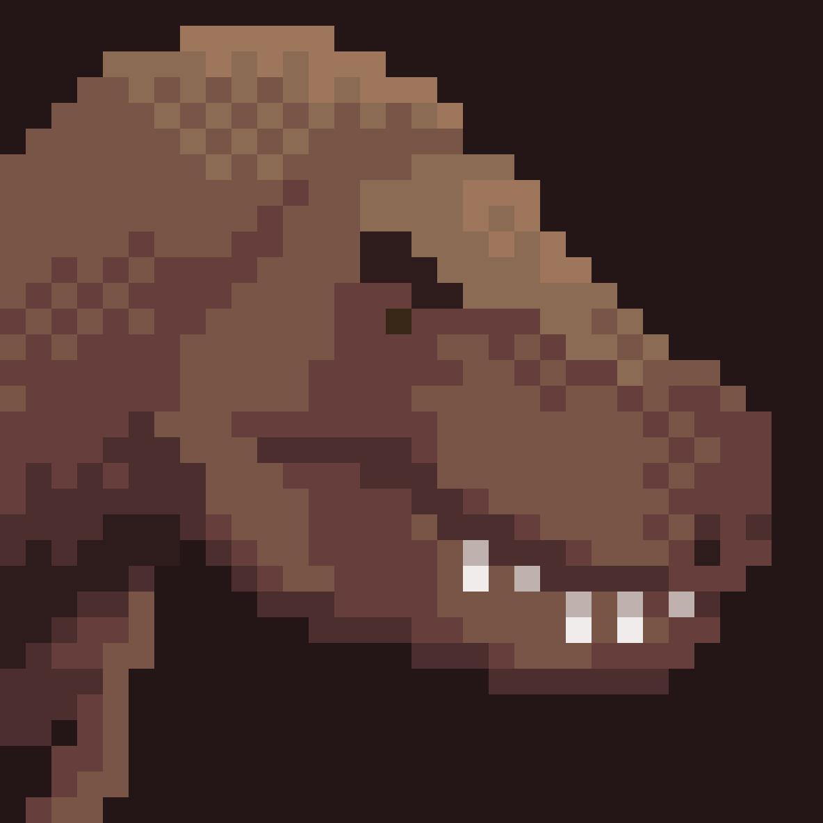Dinosaur Series: T. Rex by thegiantegg