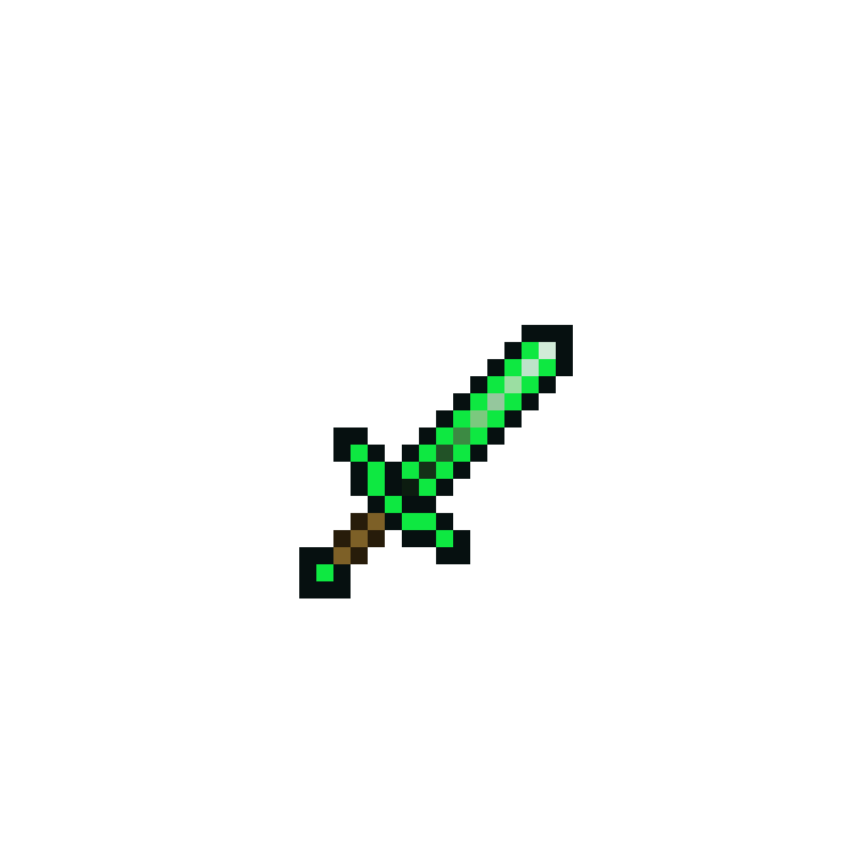 Emerald Sword by Silver-Kit