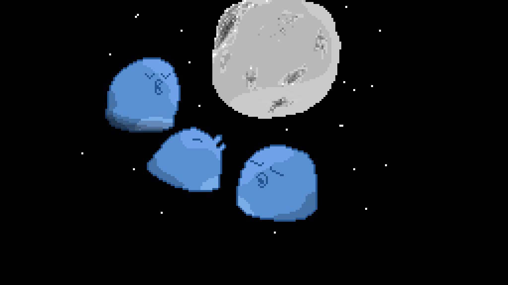 main-image-Three Birb Moon  by PixelBird
