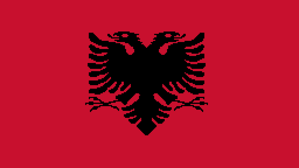 Flag of Albania by KOMBATENT