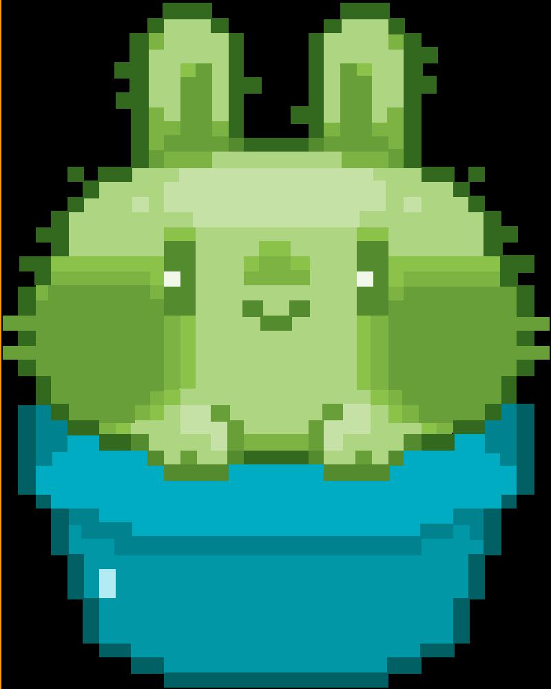 Cactus bunny :> by Kellexi2004