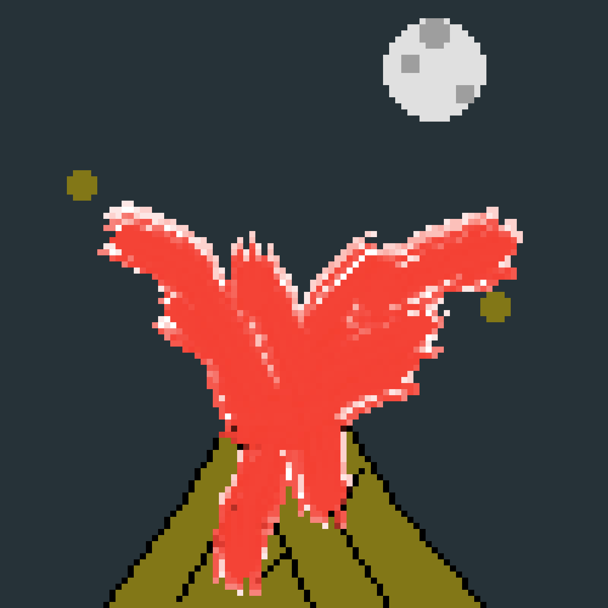 volcano by PicassoDuBled